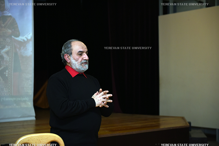 RA Honored Artist Ashot Hambardzumyan was hosted by the Cultural Center.