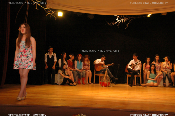 "The literary-musical event ""Spring, love, guitar"""
