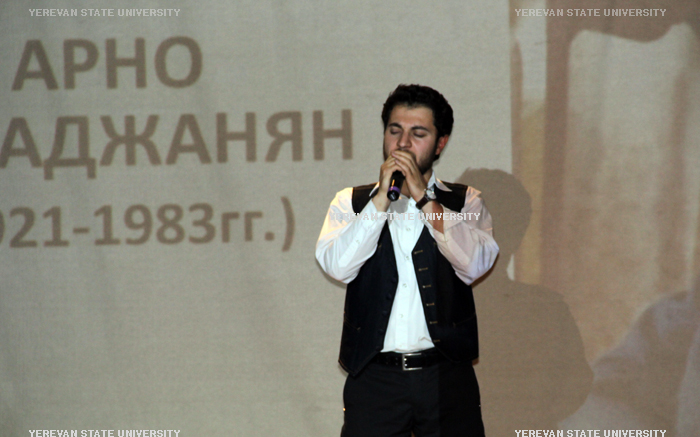 "Tigran Grigoryan - Soloist of YSU cultuer center - ""The officers"""