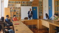 """HOW CAN A SPEECH CHANGE THE WORLD?"": MP HAYK KONJORYAN IS THE GUEST OF THE FACULTY OF SOCIOLOGY"
