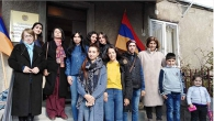 UNIVERSITY DELEGATION VISITS THE NATIVE VILLAGE OF NATIONAL HERO TATUL KRPEYAN