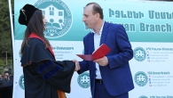 CEREMONY OF HANDING GRADUATION DIPLOMAS TO ALUMNI OF YSU IJEVAN BRANCH