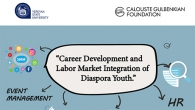 "YSU ALUMNI AND CAREER CENTER IN COLLABORATION WITH ""CALOUSTE GULBENKIAN FOUNDATION"" ORGANIZES THE ""CAREER DEVELOPMENT AND LABOR MARKET INTEGRATION OF DIASPORA YOUTH"" PROJECT"