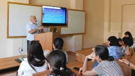 PROFESSOR FROM POLAND PRESENTS THE STUDENTS THE DIRECTIONS OF MODERN NEUROBIOLOGYԼ