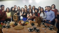 "STUDENTS PARTICIPATED IN ""TIME FOR TEA"" PROGRAM"