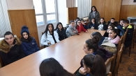 PUPILS OF THE SCHOOL AFTER VARDAN BAKHSHYAN VISITED YSU