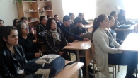 MEETING WITH THE PUPILS OF VAGHARSHAPAT SCHOOL