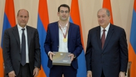 YSU VICE-RECTOR GEGHAM GEVORGYAN AND LECTURER KAREN KERYAN RECEIVED PRESIDENTIAL AWARDS