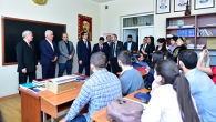 'ARMENIA IS A SMALL COUNTRY, BUT ARMENIANS ARE SMART NATION'. KAZAKHSTAN VICE PRIME MINISTER VISITED YSU