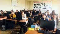 MEETING WITH LECTURERS: YSU PROFESSORS VISITED A SCHOOL IN KOTAYK