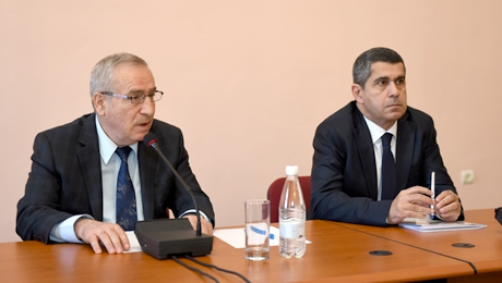 """WE WILL ESTABLISH COOPERATION WITH COUNTRIES THAT PRACTICE ANTI-ARMENIAN POLICY AT OTHER STRUCTURES"": SHAHEN AVAGYAN"