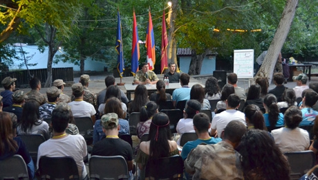 PARTICIPANTS OF THE STUDENT MILITARY CAMPING ARE ALREADY IN ARTSAKH