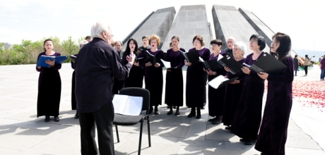 CHARLOTTE CHORUS TOUR IN ARMENIA
