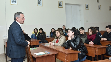 PUPILS VISITED FACULTY OF MATHEMATICS AND MECHANICS