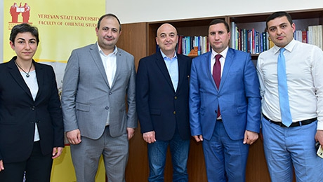 COOPERATION  BETWEEN YSU AND AGBU TO BE CONTINUED