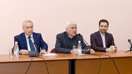 ARMENIAN-IRANIAN FRIENDSHIP LECTURE HALL WAS OPENED AT YSU