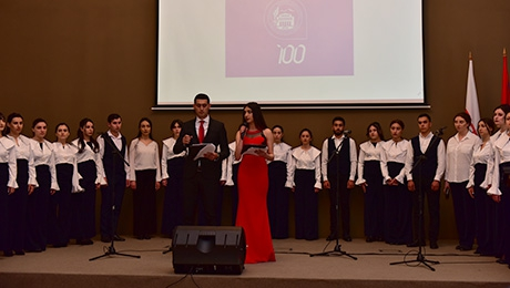 JUBILEE CONCERT IN GYUMRI ON THE EVENT OF YSU FOUNDATION CENTENNIAL