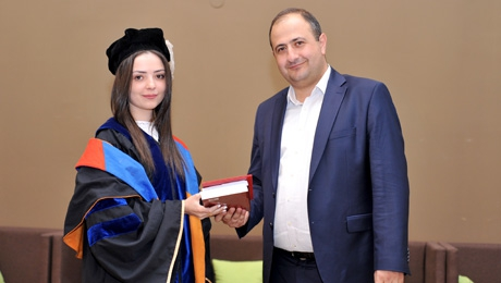 DIPLOMA AWARDING CEREMONY FOR THE SPECIALISTS IN TURKIC STUDIES