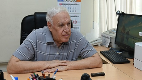 ACADEMICIAN VLADIMIR HARUTYUNYAN IS 80 YEARS OLD