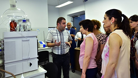 USING OF POSSIBILITIES OF MICROBIAL BIOTECHNOLOGY OF YSU AT JOB MARKET OF ARMENIA: MEETING-DISCUSSION WITH REPRESENTATIVES OF JOB MARKET