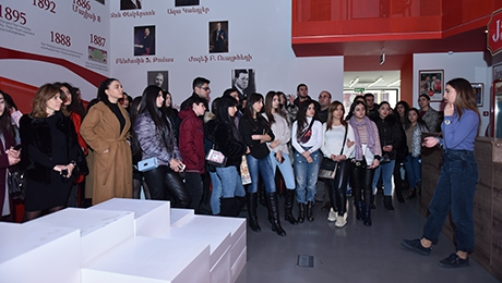 "STUDENTS VISITED  ""COCA‑COLA HELLENIC ARMENIA"""