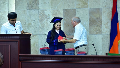 GRADUATION EVENT OF STUDENTS OF FACULTY OF GEOGRAPHY AND GEOLOGY