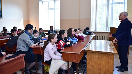 """YOU CAN BEGAN TO THINK ABOUT TODAY TO BECOME A UNIVERSITY STUDENT"" VISIT TO THE FACULTY OF GEOGRAPHY AND GEOLOGY FOR THE PROFESSIONAL ORIENTATION"