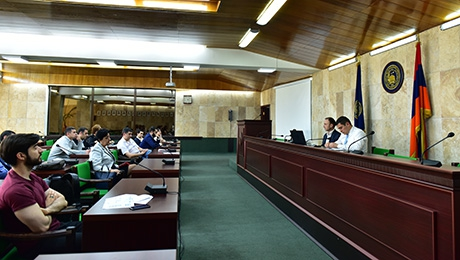 PROPOSALS FOR STRUCTURAL CHANGES AND REFORMS OF ACADEMIC PROCESSES IN YSU: SESSION OF YSU COMMISSION FOR REFORMS HAS BEEN HELD