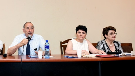 ISSUES RELATED TO ARMENIAN LANGUAGE WERE DISCUSSED