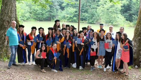 DIPLOMAS FOR ANOTHER GENERATION OF BIOLOGISTS