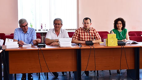 "MEETING AT YSU: NEW ISSUE OF ""SCIENTIFIC ARTSAKH"" PERIODICAL HAS BEEN LAUNCED"