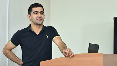 """FACULTY OF CHEMISTRY: KEY TO SUCCESS"" ALUMNUS OF THE FACULTY SEVAK GRIGORYAN TELLS HOW CHOICE OF PROFESSION HAS BECOME GUARANTEE OF SUCCESS"