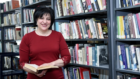 """THE WORK IN THE LIBRARY IS ABOUT HUMANITY"": YSU LIBRARIAN"