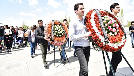YSU COMMUNITY RENDERES MEMRORY TRIBUTE TO THE VICTIMS OF GREAT GENOCIDE
