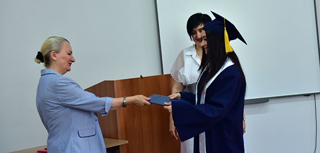 "ALUMNI OF ""PUBLIC RELATIONS"" MASTER PROGRAM GET THEIR GRADUATION DIPLOMAS"