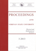 Proceedings of the YSU, Physical and Mathematical Sciences 2013 #3(232)