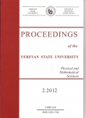 Proceedings of the YSU, Physical and Mathematical Sciences  2012 #2(228)