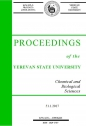 Proceedings of the YSU, Chemistry and Biology 2017, volum 51, № 1