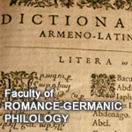 Faculty of Romance and Germanic Philology