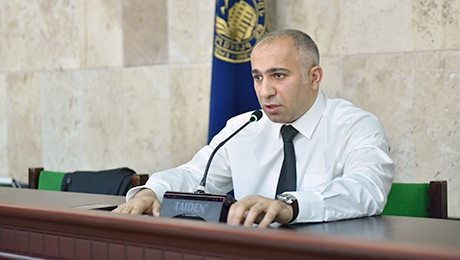 """ARTSAKH ISSUE AT THE CORE OF REGIONAL DEVELOPMENTS."" LECTURE AT YSU"